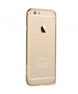 Devia Aluminium Champagne Gold - iPhone 6/6S Bumper aluminiu