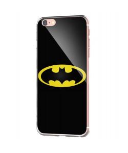 Batman Logo - iPhone 6 Carcasa Transparenta Silicon