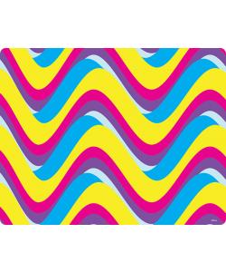 CMYK Waves - Skin Telefon