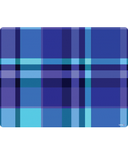 Blue Plaid - iPhone 6 Plus Skin