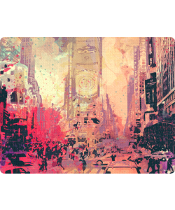 New York Time Square - Skin Telefon