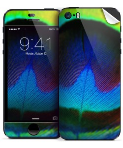 Peacock Feather- iPhone 5/5S Skin