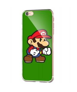Mario One - iPhone 6 Carcasa Transparenta Silicon