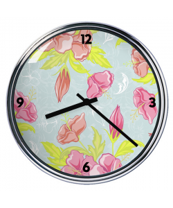 Ceas personalizat - Vintage Blossom