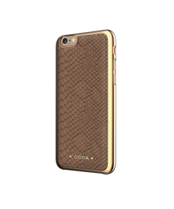 Occa Wild Khaki - iPhone 6/6S Carcasa Piele