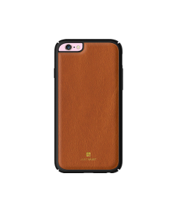 Just Must Armour Brown - Carcasa iPhone 6/6S (protectie margine 360°)