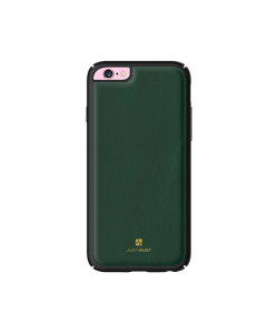 Just Must Armour Olive - Carcasa iPhone 6/6S (protectie margine 360°)