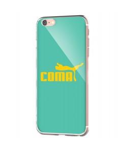 Coma - iPhone 6 Carcasa Transparenta Silicon