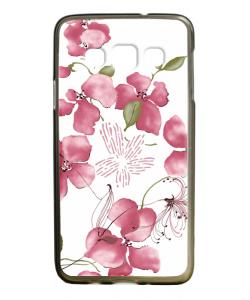 Delicate Petals - Samsung Galaxy A3 Carcasa Silicon Premium