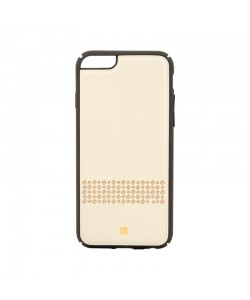 Just Must Carve V Beige - iPhone 6/6S Carcasa Piele (protectie margine 360°)