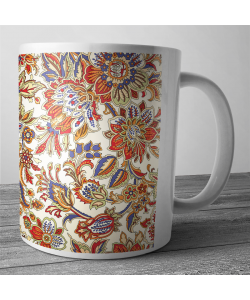 Cana personalizata - Flowers and Leaves 2