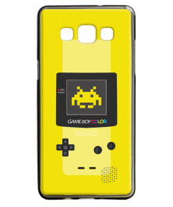 Gameboy Yellow - Samsung Galaxy A5 Carcasa Silicon