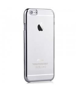 Glimmer Silver Updated Version - Devia Carcasa iPhone 6 Plus (rama electroplacata)