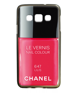 Chanel Lilis Nail Polish - Samsung Galaxy A3 Carcasa Silicon Premium