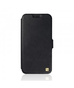 Just Must Slim - Huawei Y6 Husa Book Slim Neagra (silicon in interior)