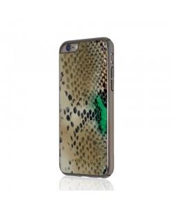 Occa Python Brown - iPhone 6/6S Carcasa Piele Naturala