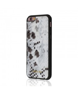 Occa Snake Gray - iPhone 6/6S Carcasa Piele Naturala (protectie margine 360°)