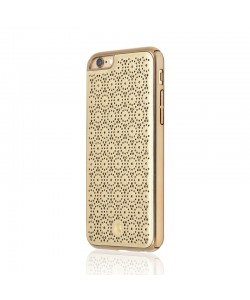 Occa Ferragamo Gold - iPhone 6/6S Carcasa Piele Eco