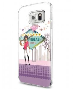 Vegas Music - Samsung Galaxy S7 Edge Carcasa Silicon