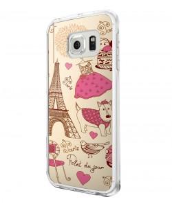 France - Samsung Galaxy S6 Carcasa Silicon