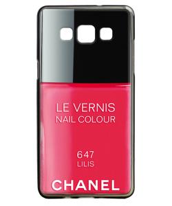 Chanel Lilis Nail Polish - Samsung Galaxy A5 Carcasa Silicon