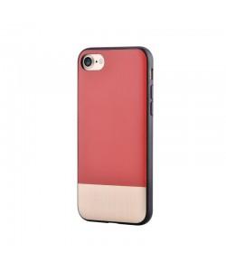 Devia Commander Red - iPhone 7 / iPhone 8 Carcasa (protectie 360°, margini flexibile)