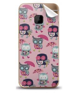 Pastel Owls - HTC One M9 Skin