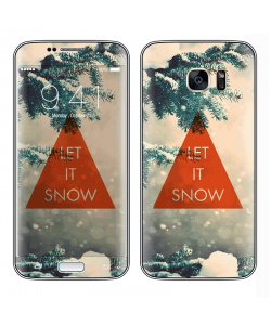 Let it Snow - Samsung Galaxy S7 Edge Skin