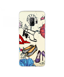 All you Need - Samsung Galaxy S9 Carcasa Transparenta Silicon