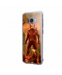 Ant Man Infinity War - Samsung Galaxy S8 Carcasa Transparenta Silicon