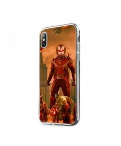 Ant Man Infinity War - iPhone X Carcasa Transparenta Silicon
