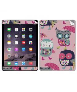 Pastel Owls - Apple iPad Air 2 Skin