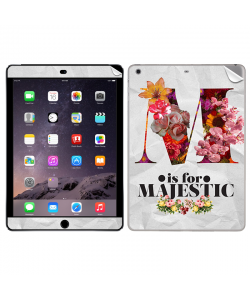 M is for Majestic 2 - Apple iPad Air 2 Skin