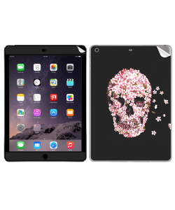 Cherry Blossom Skull - Apple iPad Air 2 Skin