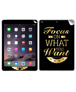 Focus - Apple iPad Air 2 Skin