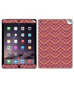 Marsala Zig Zag - Apple iPad Air 2 Skin