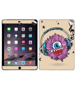 Fluffy Headphones - Apple iPad Air 2 Skin