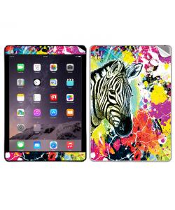 Zebra Splash - Apple iPad Air 2 Skin