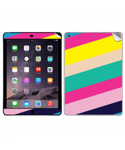 Diagonal Colors - Apple iPad Air 2 Skin