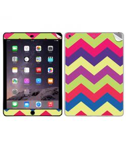 Colorful Zig Zag - Apple iPad Air 2 Skin