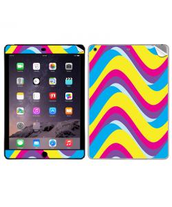 CMYK Waves - Apple iPad Air 2 Skin