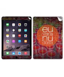 Vara nu dorm - Apple iPad Air 2 Skin