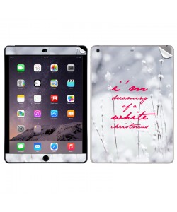 I'm Dreaming of a White Christmas - Apple iPad Air 2 Skin
