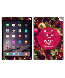 Keep Calm and Wait for Christmas - Apple iPad Air 2 Skin