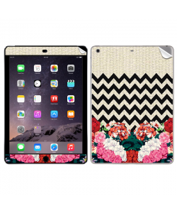 Floral Contrast  - Apple iPad Air 2 Skin