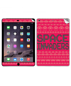 Space Invaders Red - Apple iPad Air 2 Skin