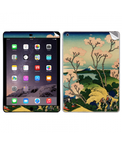 Hokusai - The Fuji from Gotenyama at Shinagawa on the Tokaido - Apple iPad Air 2 Skin