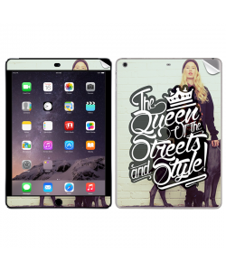 Queen of the Streets - Girl - Apple iPad Air 2 Skin