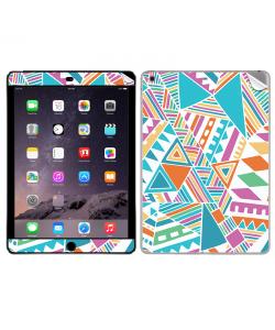 Scrambled Pattern - Apple iPad Air 2 Skin