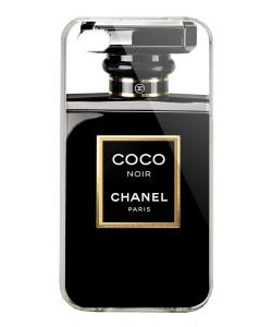 Coco Noir Perfume - iPhone 4/4S Carcasa Alba/Transparenta Plastic